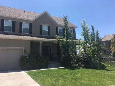 Stansbury Park Single Family Home For Sale: 387 W Battery Park Cir N