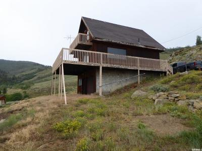 Carbon County Single Family Home For Sale: Lot 5, Scofield Mtn Homes