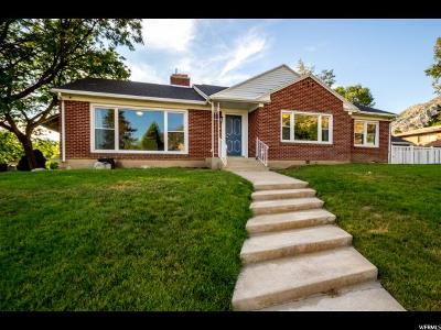 Provo Single Family Home For Sale: 1111 E Briar Ave N