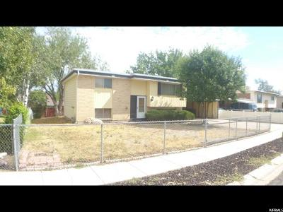 West Valley City Single Family Home For Sale: 6746 W 3860 S