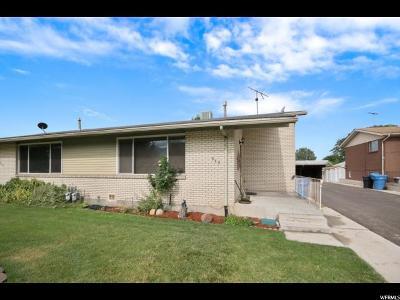 Orem Single Family Home For Sale: 862 S 50 E