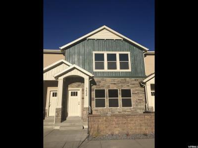 Eagle Mountain Townhouse For Sale: 3628 E Sapphire Creek Ln #319