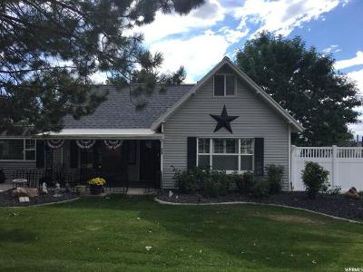 Brigham City Single Family Home For Sale: 408 S 400 W