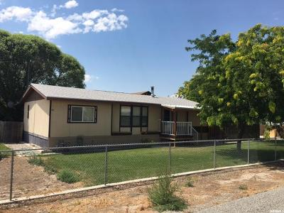 Price UT Single Family Home For Sale: $115,000