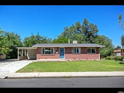 Orem Single Family Home For Sale: 475 N 600 E