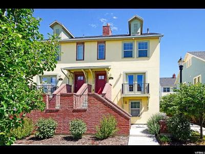 Draper Townhouse For Sale: 443 W Amber Glow Ln #28