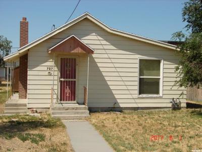 Grantsville Single Family Home For Sale: 707 E Main St.