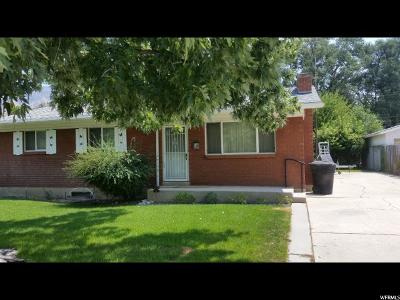 Brigham City Single Family Home For Sale: 140 N 600 W