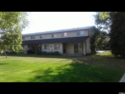 Tremonton Multi Family Home For Sale: 656 W 700 S #1-16
