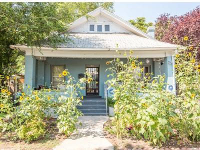 Salt Lake City Single Family Home For Sale: 126 W 900 S
