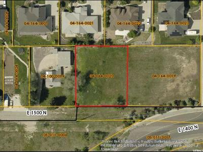 North Logan Residential Lots & Land For Sale: 1321 E 1500 N