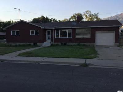 Orem Single Family Home For Sale: 539 E 400 S