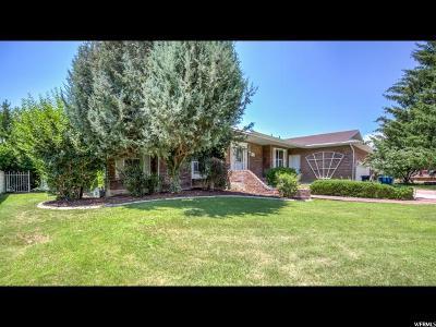 Orem Single Family Home For Sale: 1791 N Bluebird Rd