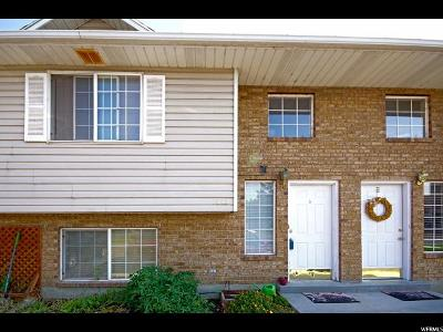Pleasant Grove Townhouse For Sale: 1552 W Garden Dr N #3