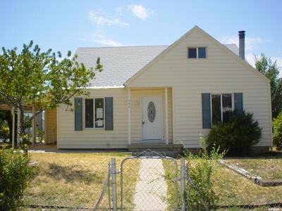 East Carbon UT Single Family Home For Sale: $30,000