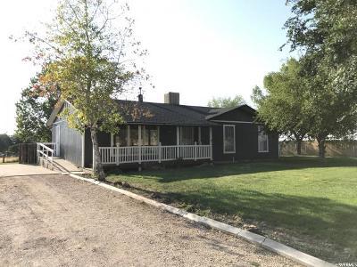 Single Family Home For Sale: 361 N 100 E