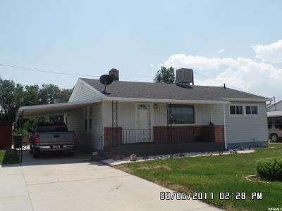 Price UT Single Family Home For Sale: $105,000