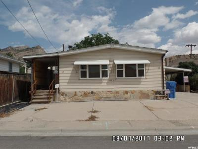 Helper UT Single Family Home For Sale: $65,500