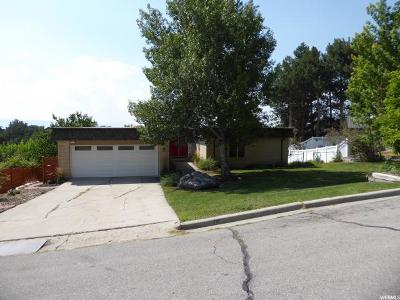 Provo Single Family Home For Sale: 3541 N Sioux Cir