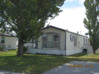Tremonton Single Family Home For Sale: 900 W Main, #81