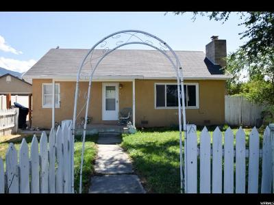 Spanish Fork Single Family Home For Sale: 1142 E Canyon Rd S