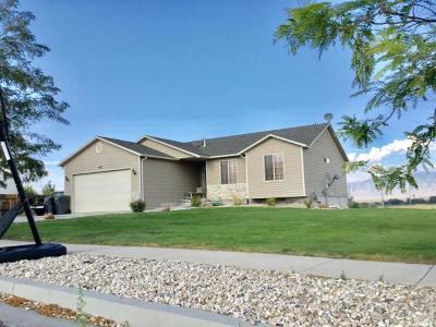 Grantsville Single Family Home For Sale: 140 N Bluegrass W