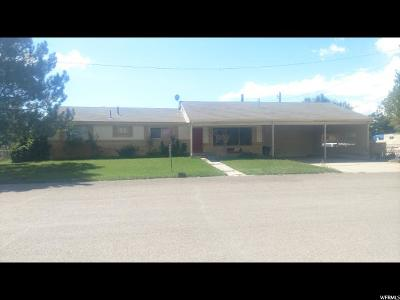 Castle Dale Single Family Home For Sale: 60 N 700 E