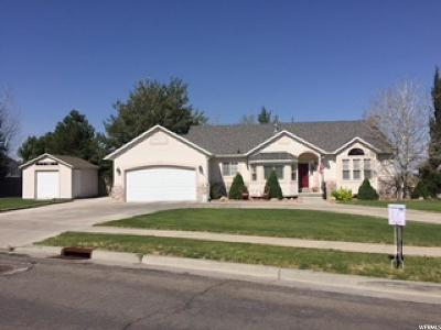 Tooele Single Family Home For Sale: 1261 E Haylie Ln. S
