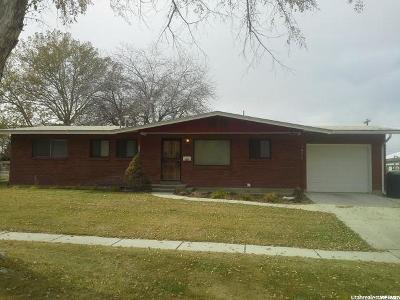 Brigham City Single Family Home For Sale: 615 N 500 E