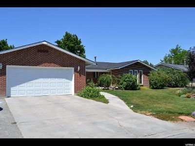Tremonton Single Family Home For Sale: 533 E Wright Way
