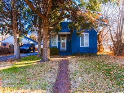 Ogden Single Family Home For Sale: 2368 Tyler Ave