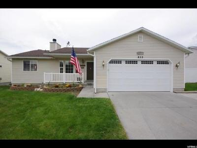 Tooele Single Family Home For Sale: 822 W 660 S