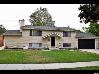 Brigham City Single Family Home For Sale: 879 N Medoland E