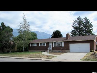 Orem Single Family Home For Sale: 1118 N 800 W