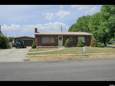 Tremonton Single Family Home For Sale: 689 N 200 E