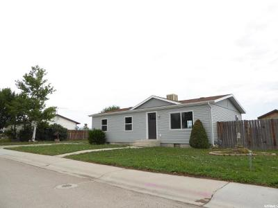 Wellington UT Single Family Home For Sale: $107,000