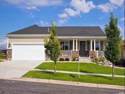 Saratoga Springs Single Family Home For Sale: 162 E Cottage Cv S