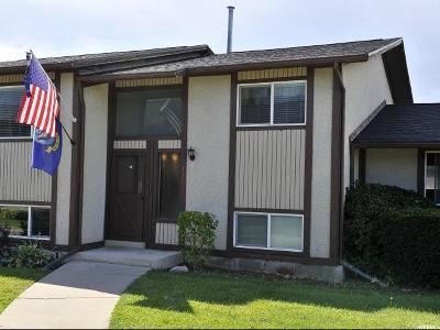 Orem Townhouse For Sale: 333 E Cedarwood Dr
