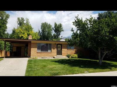Brigham City Single Family Home For Sale: 656 W 500 N