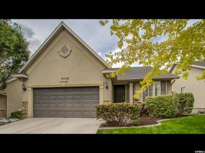 Lehi Single Family Home For Sale: 3458 W Plymouth Cv N