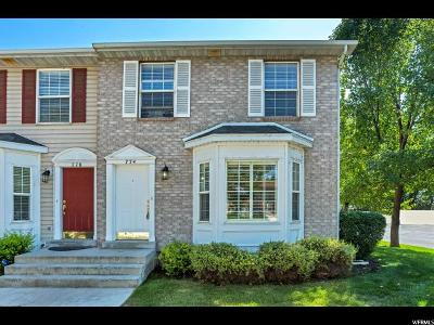 Provo Townhouse For Sale: 774 E 950 S