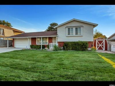 West Valley City Single Family Home For Sale: 3686 S Bannock St W