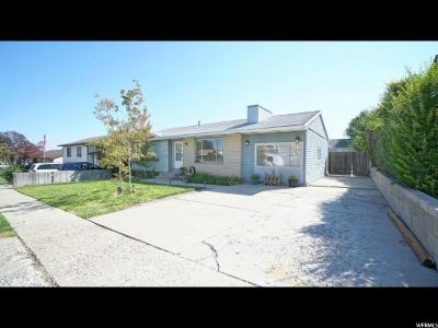 Magna Single Family Home For Sale: 3355 S 8070 W