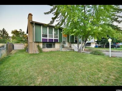 West Valley City Single Family Home For Sale: 3683 S Oxford Way
