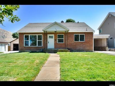 Brigham City Single Family Home For Sale: 123 S 400 E