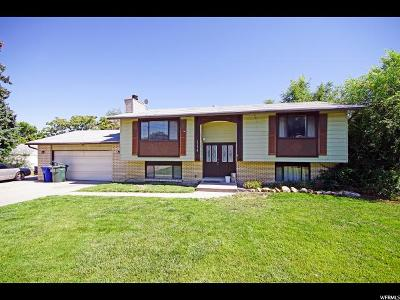 West Valley City Single Family Home For Sale: 3578 W Crestfield Dr