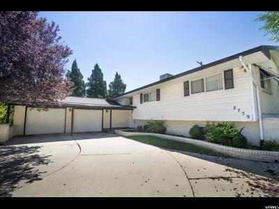 West Valley City Single Family Home For Sale: 2779 W Marcus Rd