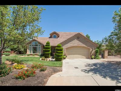 St. George Single Family Home For Sale: 3775 S Sugar Leo Rd W