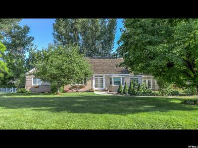 Cache County Single Family Home For Sale: 602 W 4600 N