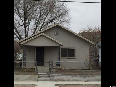 Helper Single Family Home For Sale: 63 S 200 E